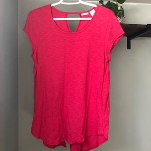 NWOT Bright pink t-shirt